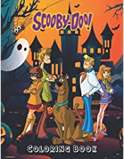 Scooby-Doo Coloring Book: 100 Pages, Colour Scooby-Doo, Highest quality artwork of Scooby-Doo to colour in, High Quality And Premium Cover!