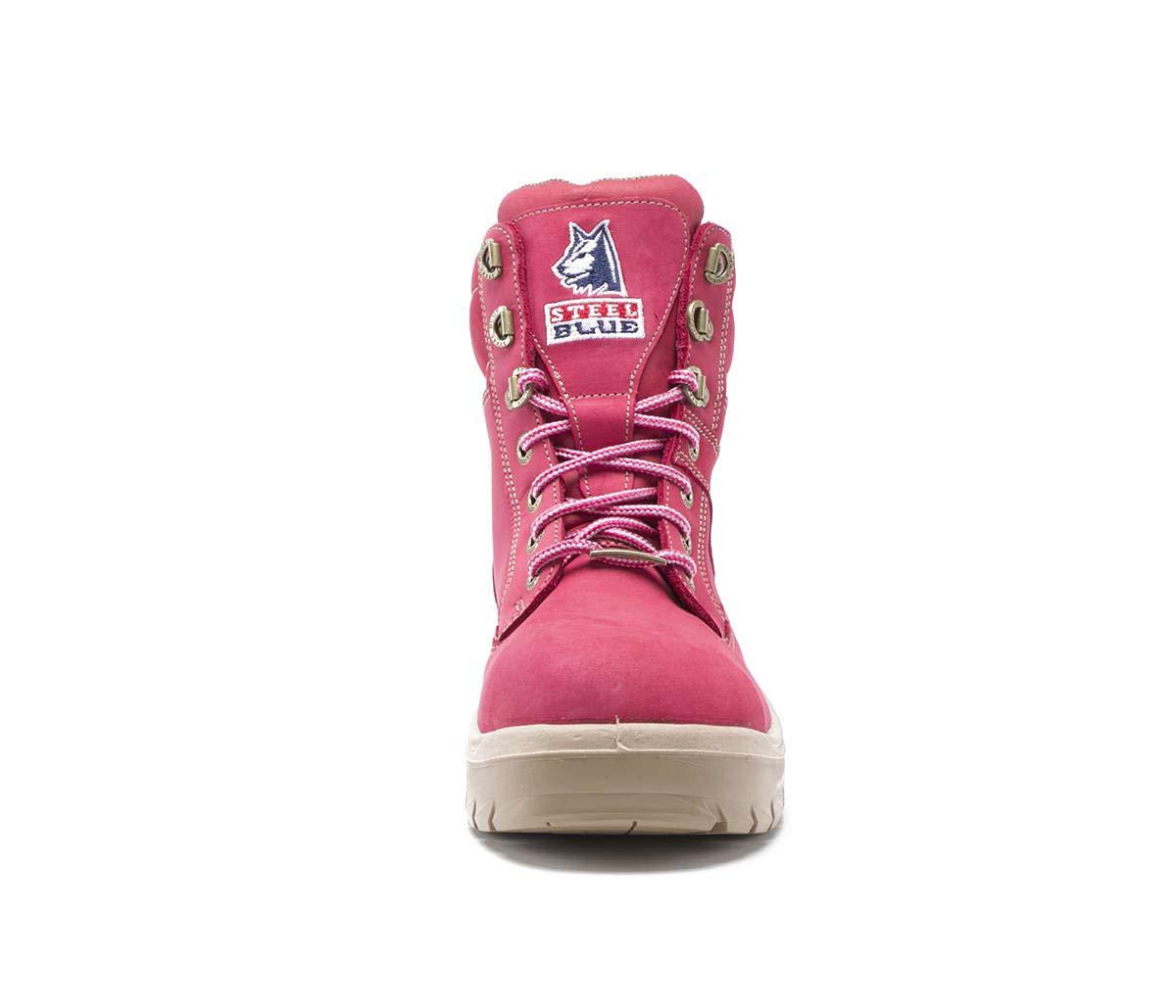 Pink Steel Blue 522860W-110-PNK Southern Cross Ladies Boot