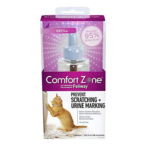 Comfort Zone with Feliway Diffuser Refill for Cat Calming, 1 ()