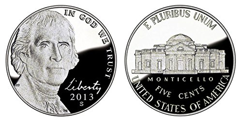 2013 S Jefferson Proof Nickel PF1
