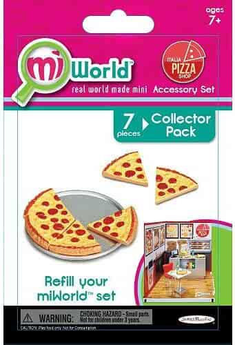 Jakks Pacific MiWorld Italia Pizza Shop Set #2 Collector Pack