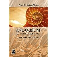 Anlambilim: Anlambilim Konuları ve Türkçenin Anlambilimi