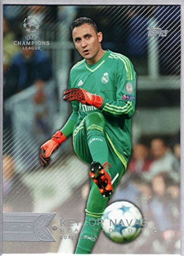 soccer-pro-2015-topps-uefa-champions-league-10-keylor-navas-nm-mt