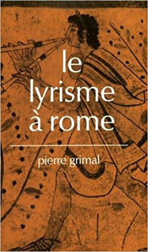 Livres gratuits Le lyrisme à Rome pdf, epub
