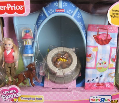 Loving Family CAMPING TENT Camp Playset w
