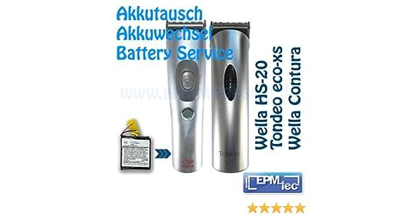 Cambio de batería para Wella Xpert/WELLA Contura HS40 HS 41 HS 60 ...
