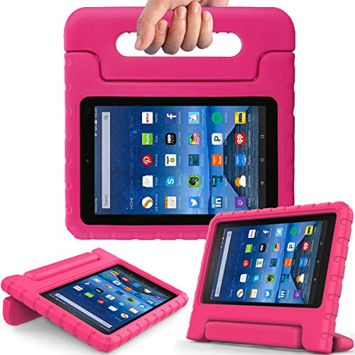 AVAWO Kids Case for Fire 7 2017 - Light Weight Shock Proof Handle Kid-Proof Case for Fire 7 inch Display Tablet (7th Generation - 2017 Release)