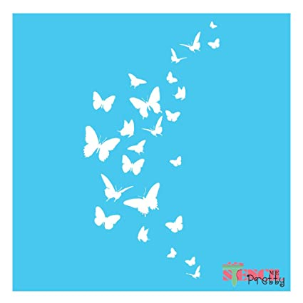 Butterfly Stencil Template Paint It Yourself Wall Art Furniture Airbrush X Small 6 X 10 5