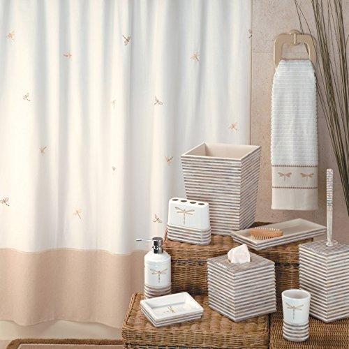 Creative Bath Products 'Dragonfly' Bathroom Set 3 Piece Towel Set