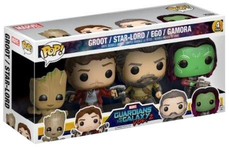 Funko POP! Guardians of the Galaxy vol. 2 - 4-Pack #02 Figure (limited)