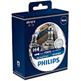 Philips 12342RVS2 RacingVision - Faros bulbo coche, H4, 2 piezas