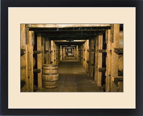 Framed Print of USA, Kentucky, Loretto Maker s Mark Bourbon Distillery, Aging Bourbon in by Fine Art Storehouse (Image #3)