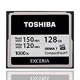 TOSHIBA Compact Flash Memory Card 1000X 128GB