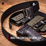 WOLF TACTICAL Heavy Duty Quick-Release EDC Belt