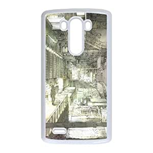Intricate Building Anime LG G3 Cell Phone Case White DAVID-188109