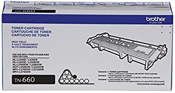 Brother Genuine High-yield Toner Cartridge, Tn660, Replacement Black Toner, Page Yield Up To 2,600 Pages, Amazon Dash Replenishment 1