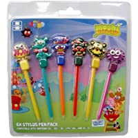 MOSHI MONSTERS Moshlings Stylus 6-in-1 Pack (GAMO-2SY-6PAC-DS-BP)