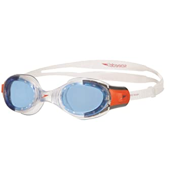 speedo Futura Biofuse Flexiseal Goggle Junior White/Turquoise/Clear 2018 Schwimmbrillen itILnkdGDV