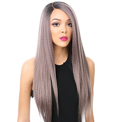 It's A Wig Synthetic Hair Lace Front Wig Gala (HEATHER - Front Heather