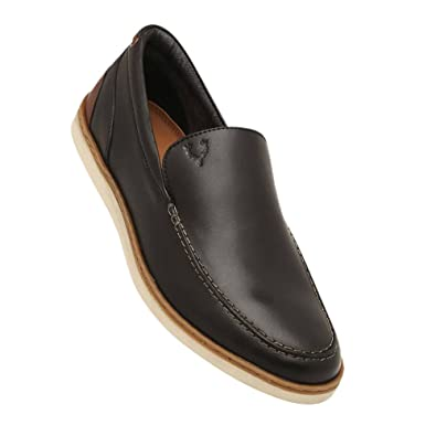 b96b11d65d5 Allen Solly Men s Black Loafers-9 UK India (43 EU)(ASSHS517054)  Buy Online  at Low Prices in India - Amazon.in