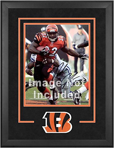 Cincinnati Bengals Deluxe 16x20 Vertical Photograph Frame by Mounted Memories
