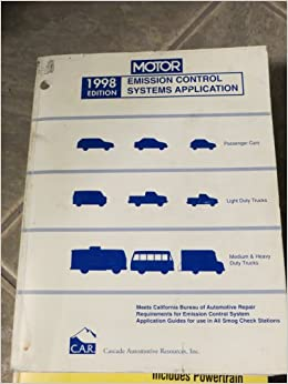 Motor emission control systems application book