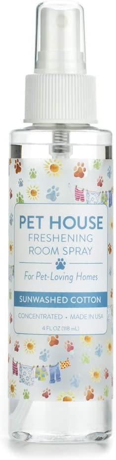One Fur All Pet House Freshening Room Spray - Concentrated Air Freshening Spray Neutralizes Pet Odor - Non-Toxic & Allergen Free Air Freshener – Effective, Fast-Acting – 4 oz