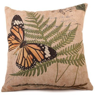 Amazon.com: ThanTen Design 4545Cm Village Style Butterfly ...