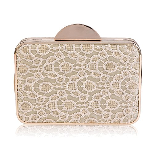 Sequins Clutch Graceful Womens Evening Damara Gold Damara Womens Embroidered Bag Pvqxp