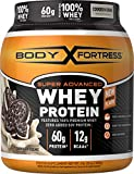 Body Fortress Super Advanced Whey Protein Powder, Great for Meal Replacement Shakes, Low Carb, Cookies N' Cream, 2 lbs