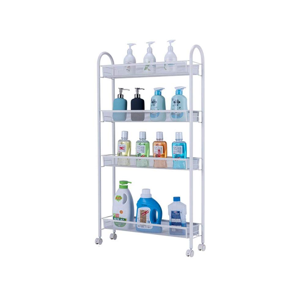 Bookcases Home Kitchen Racks, Kitchen Racks, Punching, Removable Supplies, Kitchen Utensils, Racks, Storage Racks, Shelf Racks Yixin (Color : B, Size : 5515105cm)