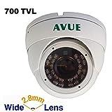 AVUE AV665SCW28 700 TVL Wide Angle True Day&Night IR Dome Camera For Sale
