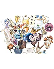 SMTHOME 38pcs Self-Adhesive Magic Divination Stickers for Junk Bullet Journal Notebook Diary Decoration