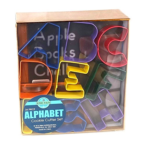 3 inch letter cookie cutters - 4