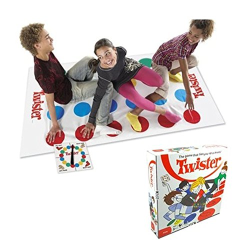 EITC Classic Kids Body Twister Moves Game Play Mat Board Group Party Picnic Fun Outdoor Sports Toys (Twister Game Mat)