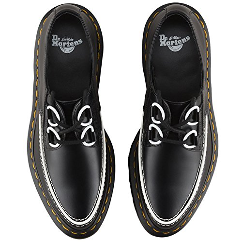 Dr.Martens Belladonna Creeper Black White Womens Shoes Black White
