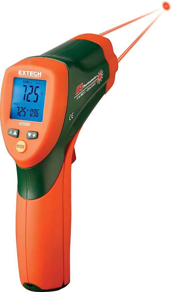 Extech 42509 Termómetro infrarrojo con alerta de color: Amazon.es: Industria, empresas y ciencia