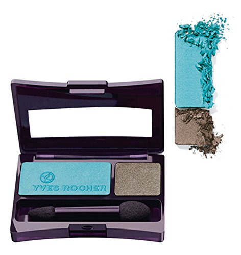 Yves Rocher Intense Color Duo Eyeshadow Greige & Turquoise