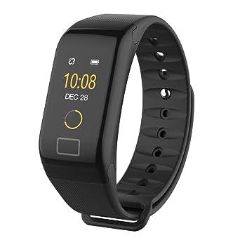 Amazon.com: Smart Bracelet Watch, F1 Plus Watches Blood ...