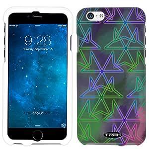 iPhone 6 Plus Neon Geometric Abtract Print Case