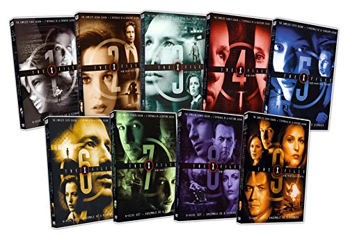 DVD : The X Files (The Complete Season 1 - 9)