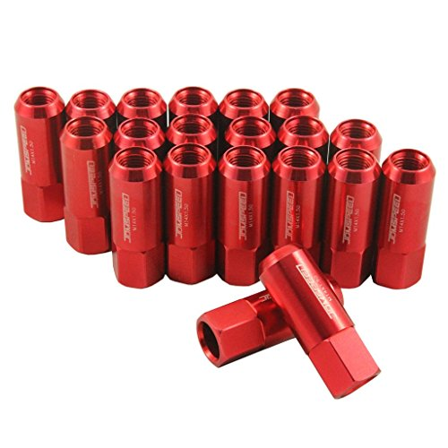 Red Tuner Lugs Nuts - 8