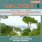 Walton: Cello Concerto, Partita, Britten Improvisations, Passacaglia