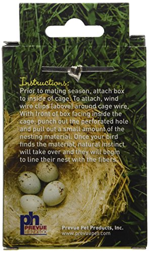 Prevue-Pet-Products-BPV103-Cotton-Thread-Fibers-Bird-Nesting-Material-Box