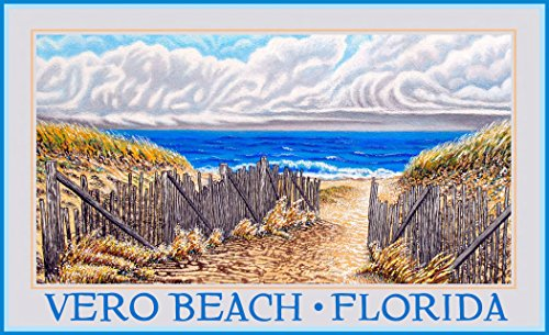 Northwest Art Mall DL-5635 AON Vero Beach Florida Attitudes Of Nature Print by Artist David Linton, 11