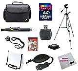 Digital SLR Camera 32gb Super Starter Kit for Canon, Nikon, Sony, Samsung, Pentax and Panasonic Cameras