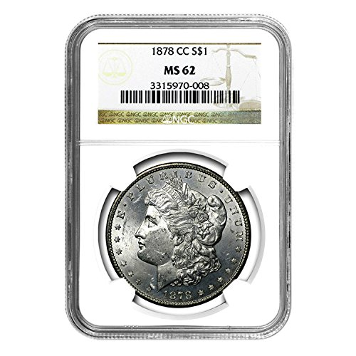 1878 CC Morgan Dollar $1 MS-62 NGC