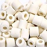 箱売り 高品質ろ過材 グラスリング α(アルファ) Mサイズ 10Kg(約20L) リング状ろ材 バクテリア