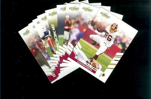 Washington Redskins Football Cards - 3 Years of Score Complete Team Sets 2006,2007, 2008 - Includes Stars, Rookies & More - Individually Packaged!