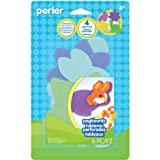Perler Beads Small Shaped Pegboards, 4-Pack